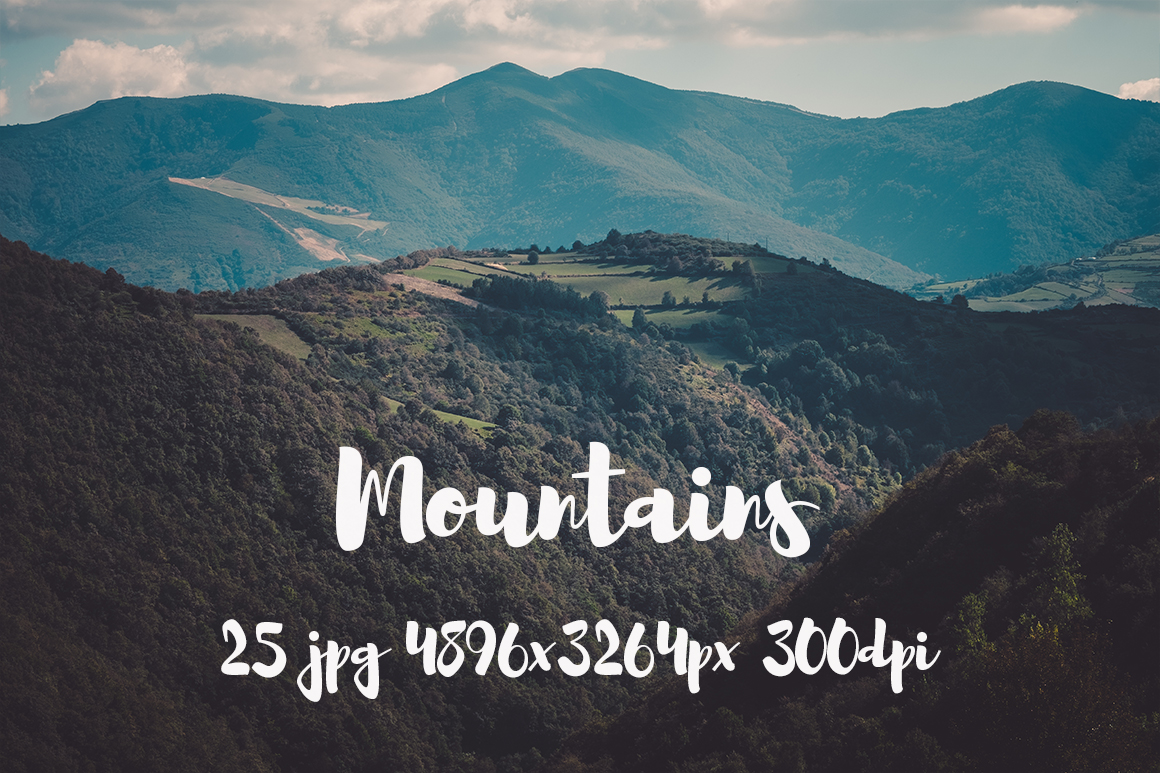 Mountains Pack example image 15