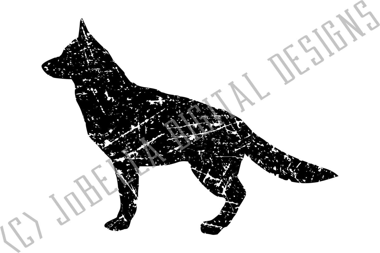 German Sheperd SVG, Printable & Sublimation Design example image 3