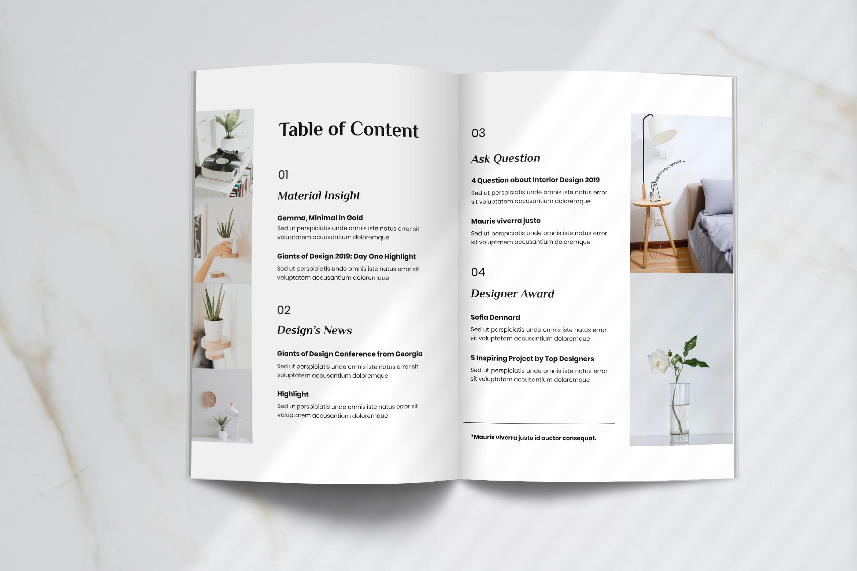 Futura - Interior Magazine Template example image 2