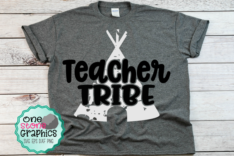 Teacher tribe svg,grunge tribe svg,teacher tribe svg example image 2