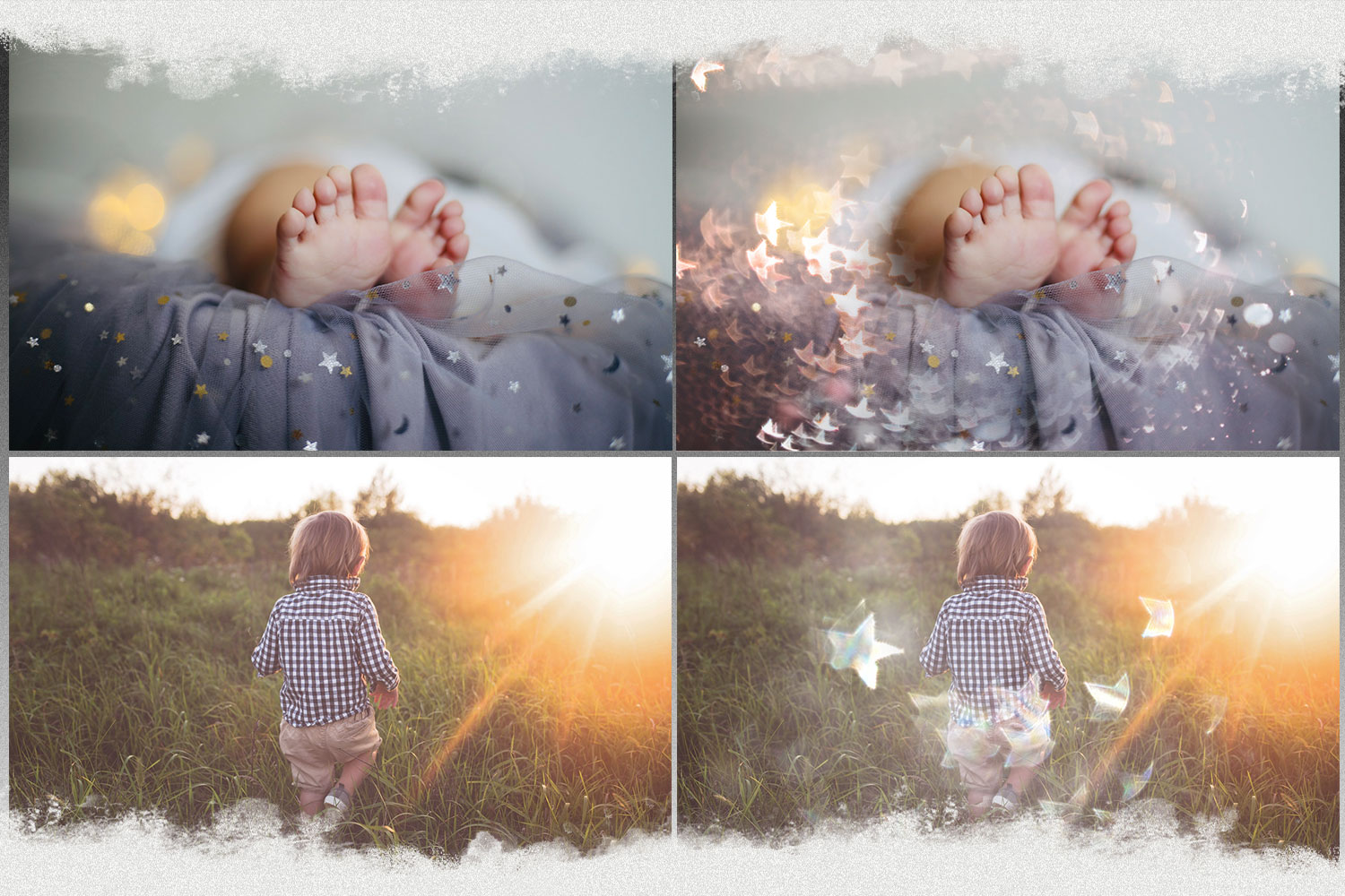 Sunbeams, spring, star, flare, photoshop overlays, natural example image 2