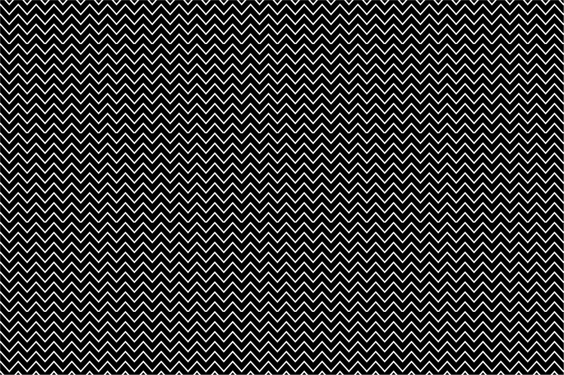 Collection of seamless patterns. B&W example image 6
