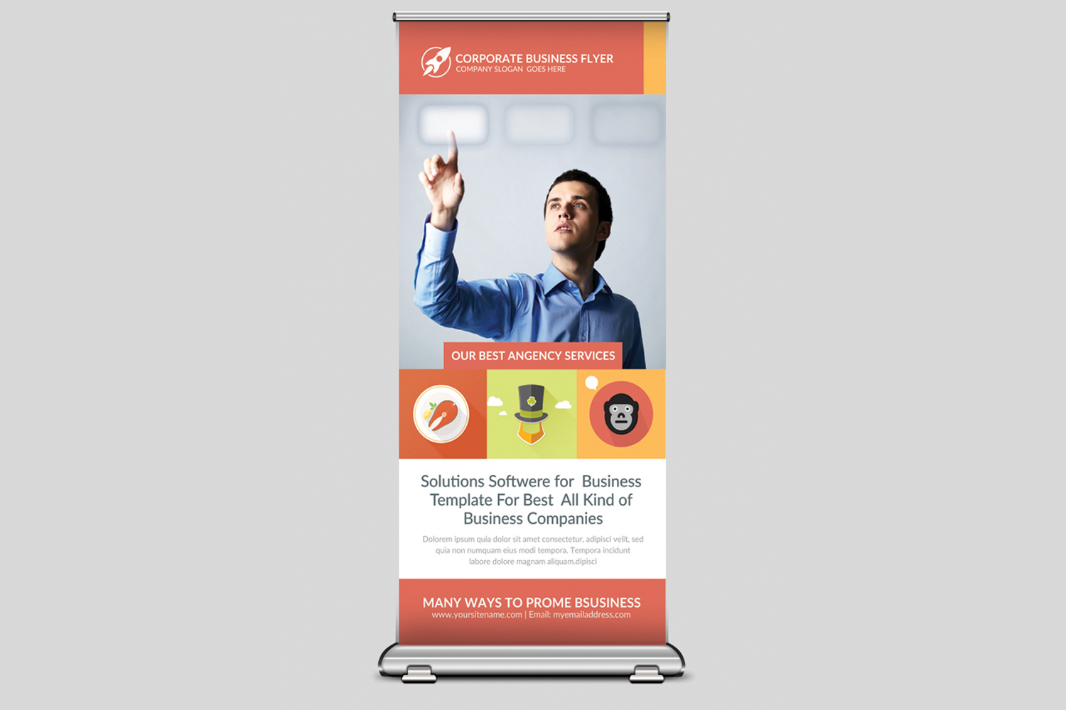 Elegant Business Rollup Banner example image 1