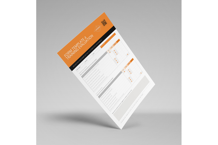 Form Template 4 Training Evaluation example image 2