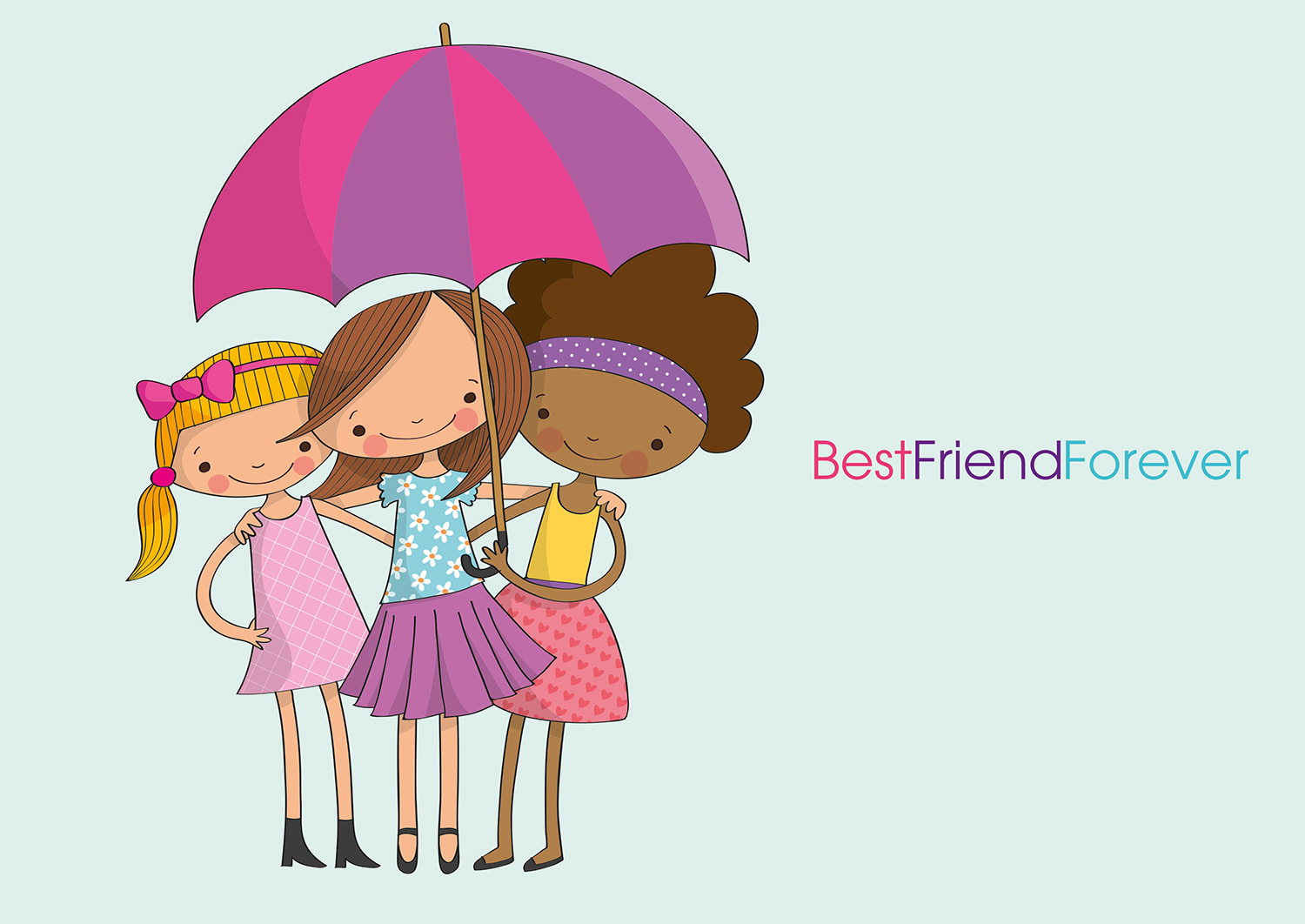 BFF Best Friends Forever example image 4