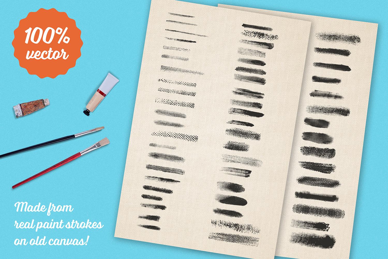 Preppy Art Brushes for Adobe Illustrator example image 6
