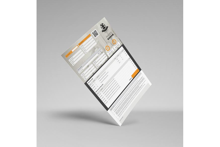 Business A4 Invoice Template example image 6