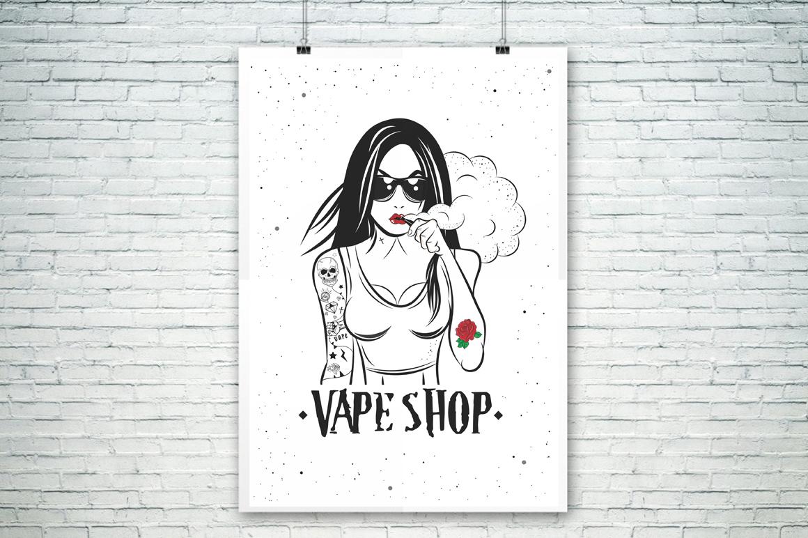 Vape Girl example image 3