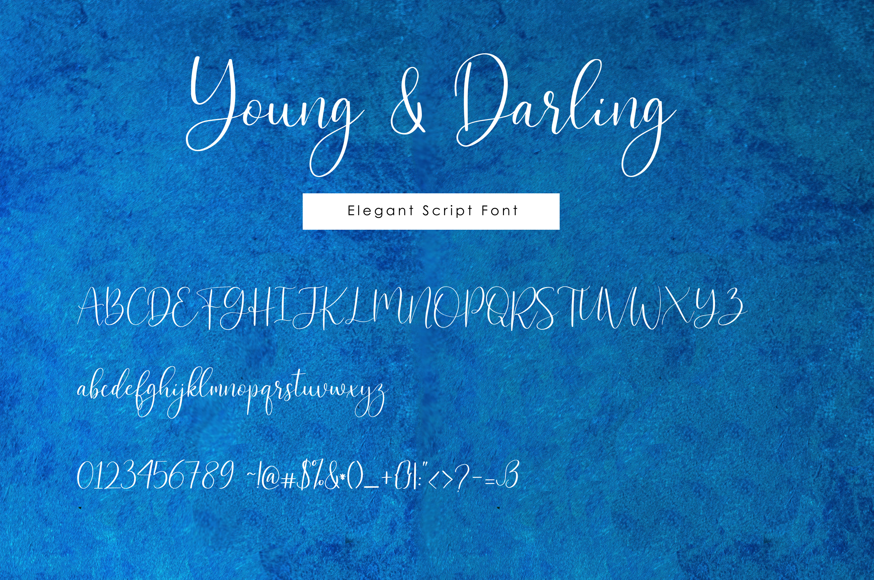 Young & Darling Font example image 3