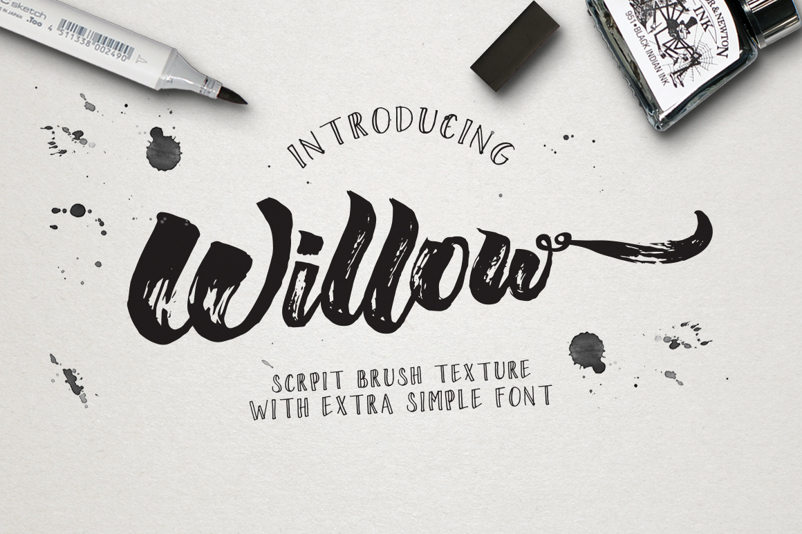 Wiilow Brush & Extra example image 1