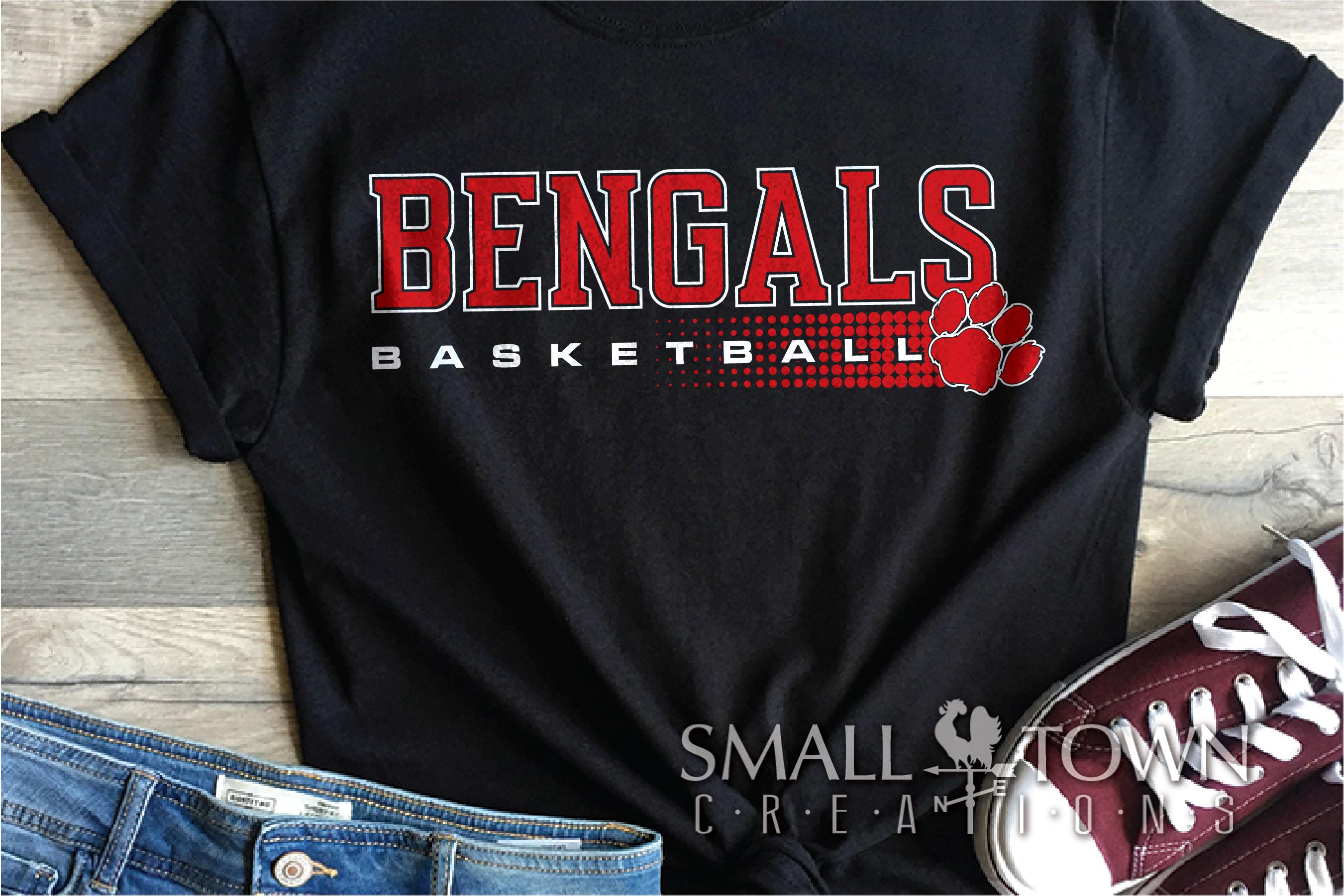 Bengal, Basketball, Sport, Team, Logo, PRINT, CUT, DESIGN example image 1
