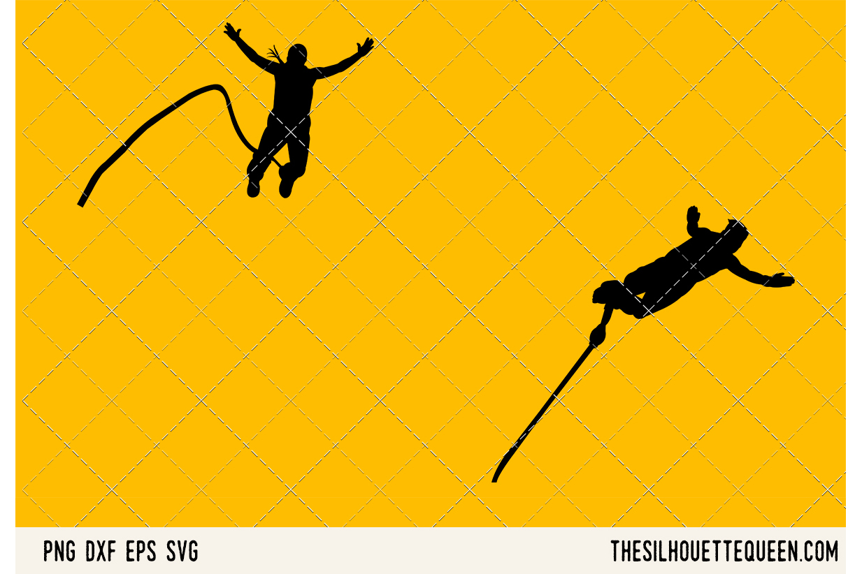 Bungee JUmping SVG example image 1