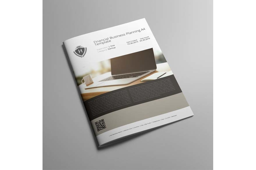 Financial Business Planning A4 Template example image 6