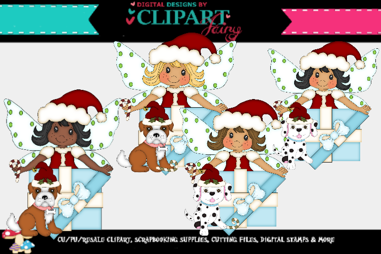 Christmas Fairies 2 example image 1