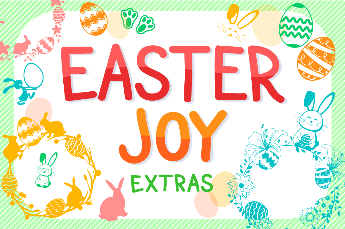 The Easter Joy Font Bundle example image 16