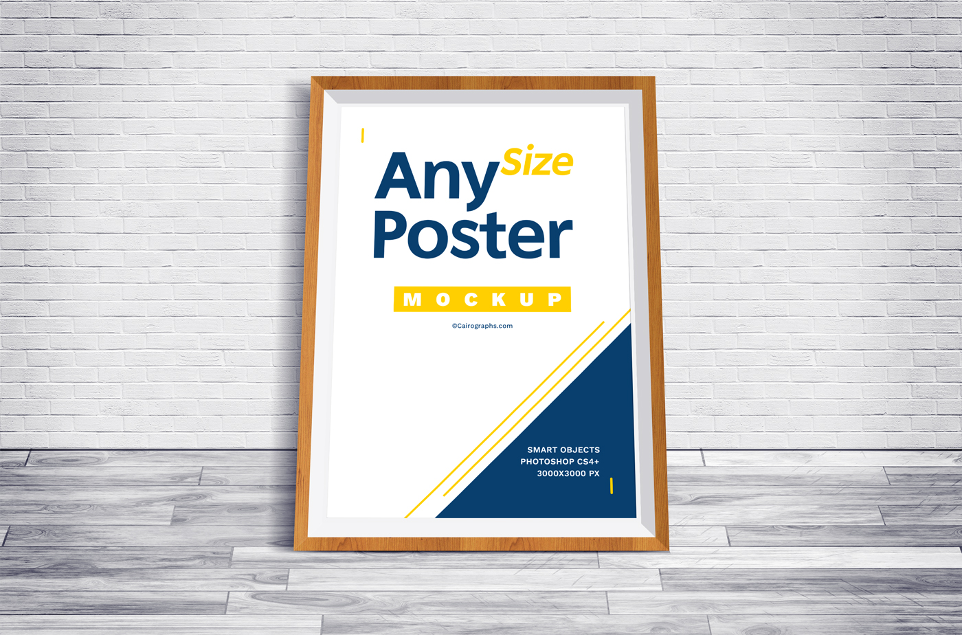 Posters Frames Mockups example image 3