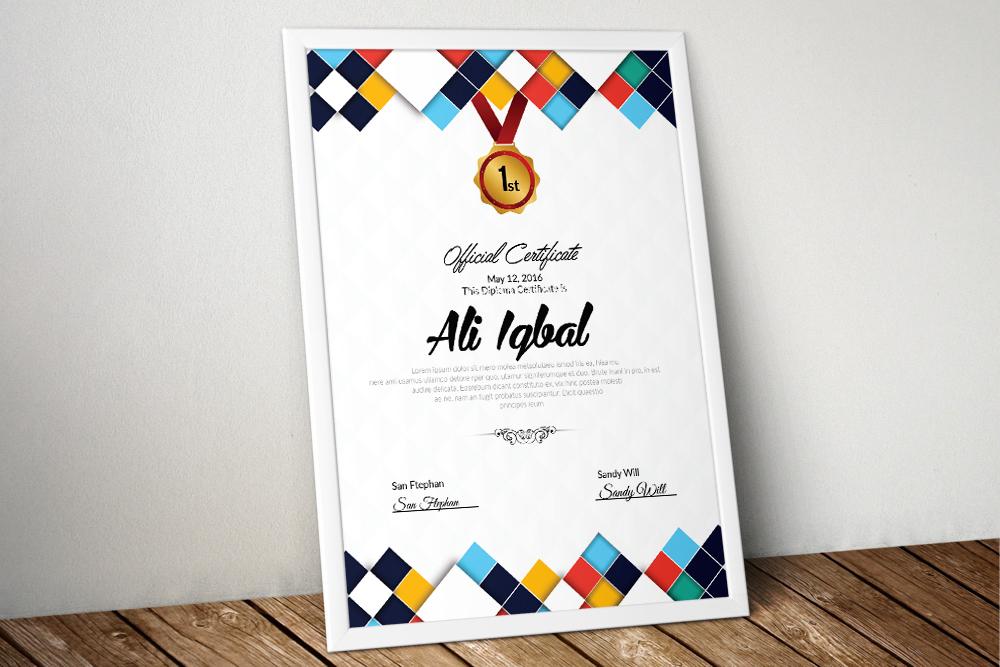 10 Certificates Template Bundle example image 3