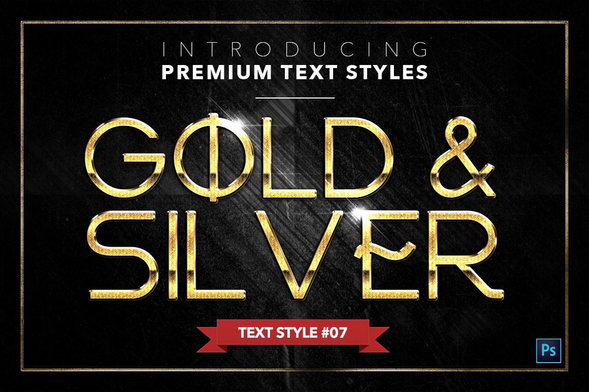 Gold & Silver #4 - 20 Text Styles example image 17