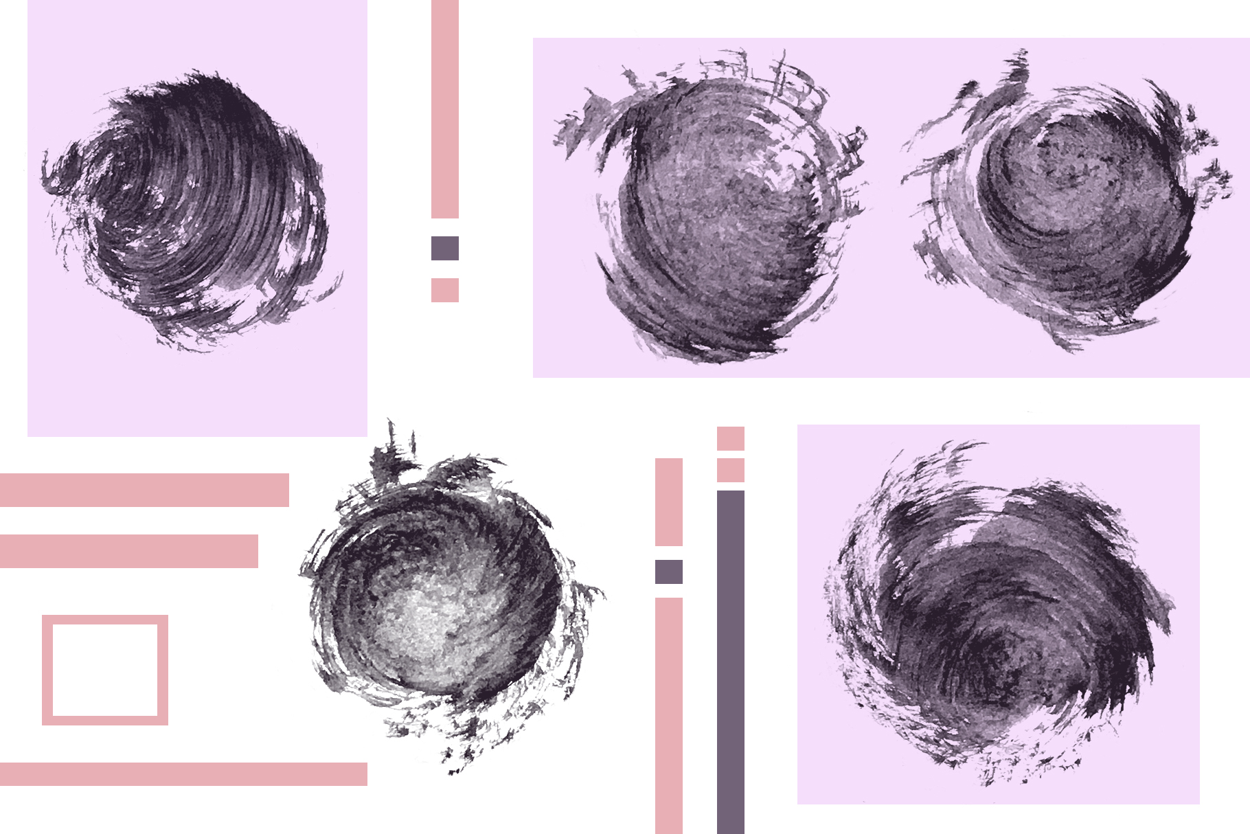 95 Watercolor brushes for PS example image 11