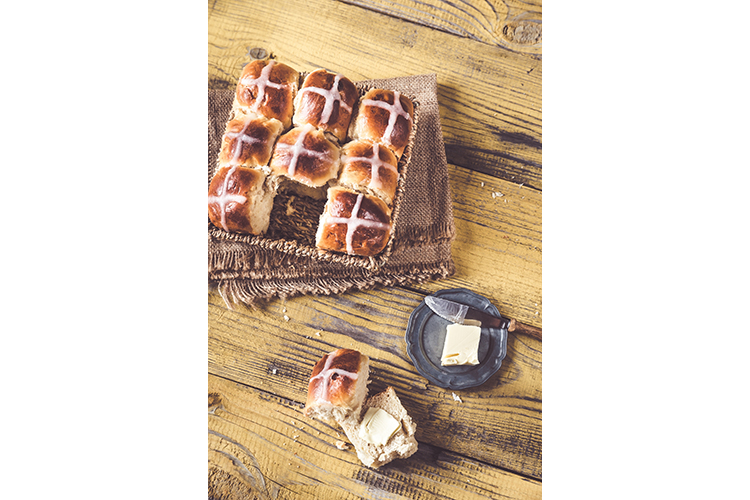 Homemade hot cross buns example image 1