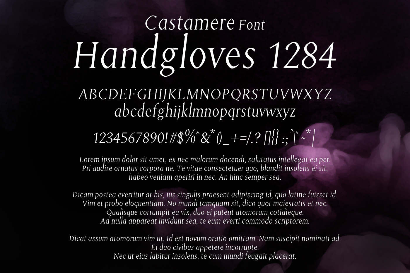 Castamere Font example image 2