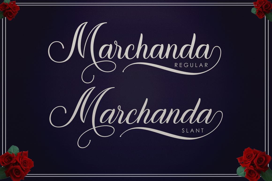 Marchanda Script example image 12