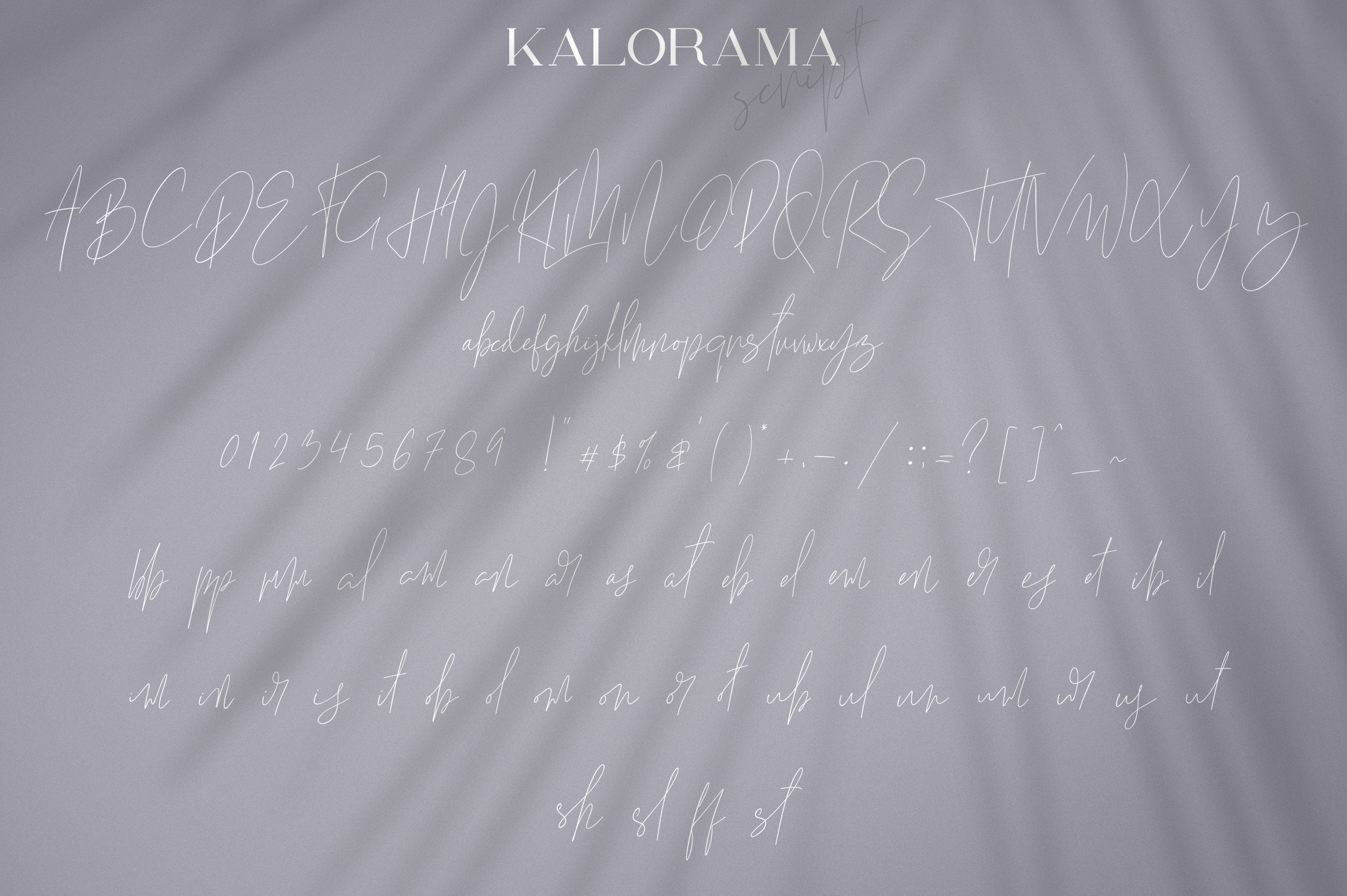 Kalorama - Font duo example image 9