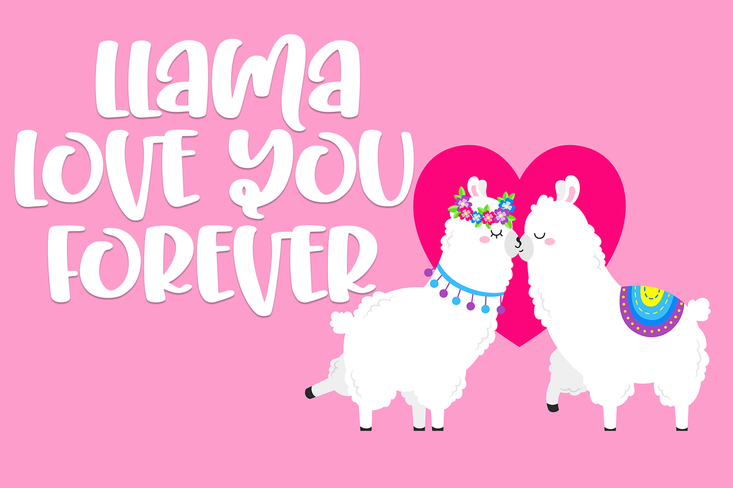 Unicorn Llama - A Quirky Hand-Written Font example image 3