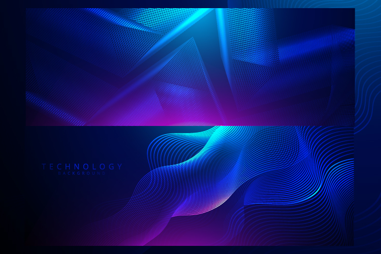 6 IN 1 WIDE SCREEN TECHNOLOGY BACKGROUNDS BUNDLE example image 4