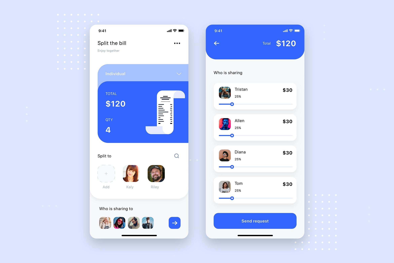 Curium - Financial UI Kit example image 7