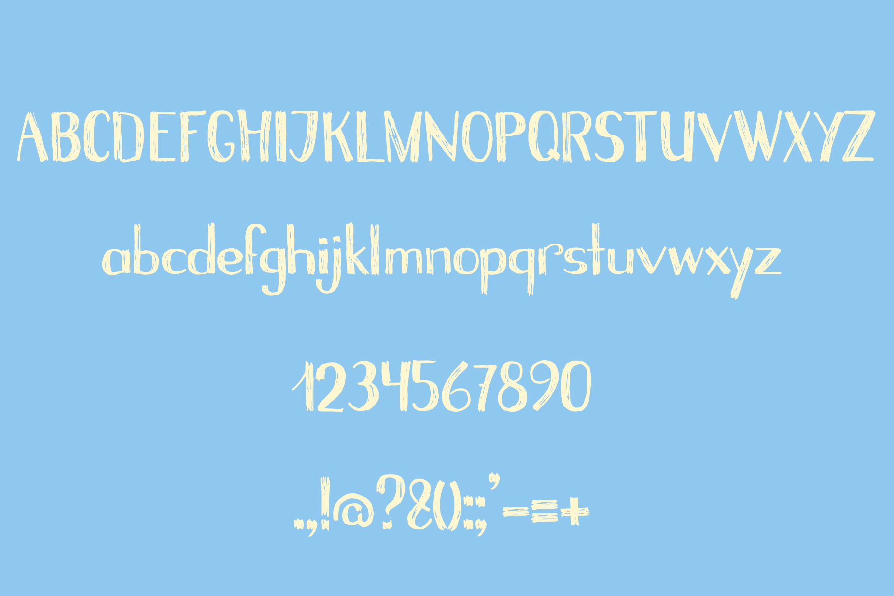 The Real Islander Grungy & Whimsical Font Duo example image 4