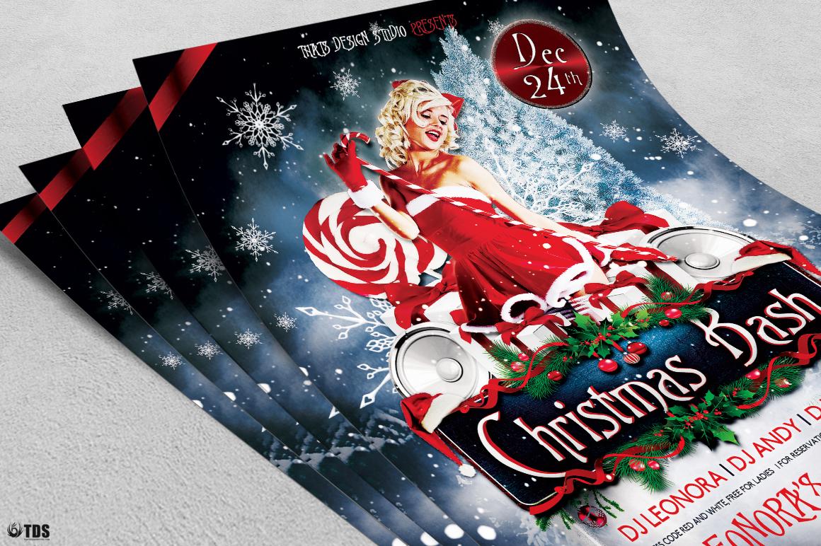 Christmas Bash Flyer Template V1 example image 5