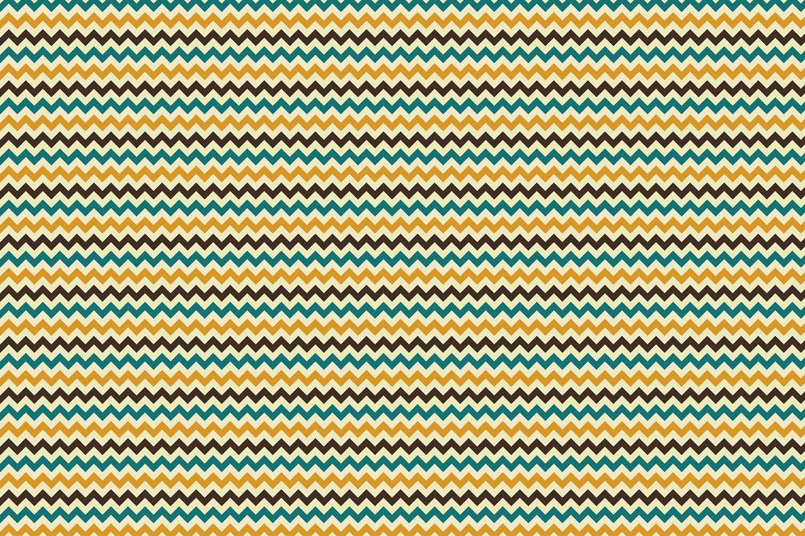 Retro Seamless Patterns example image 6