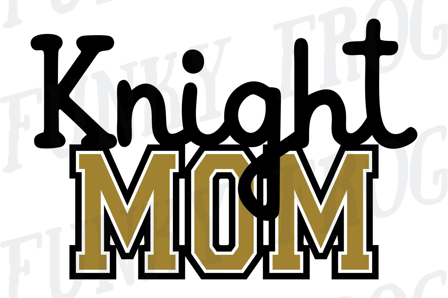 Knight Dad and Knight Mom SVG Cut File for Crafters example image 4