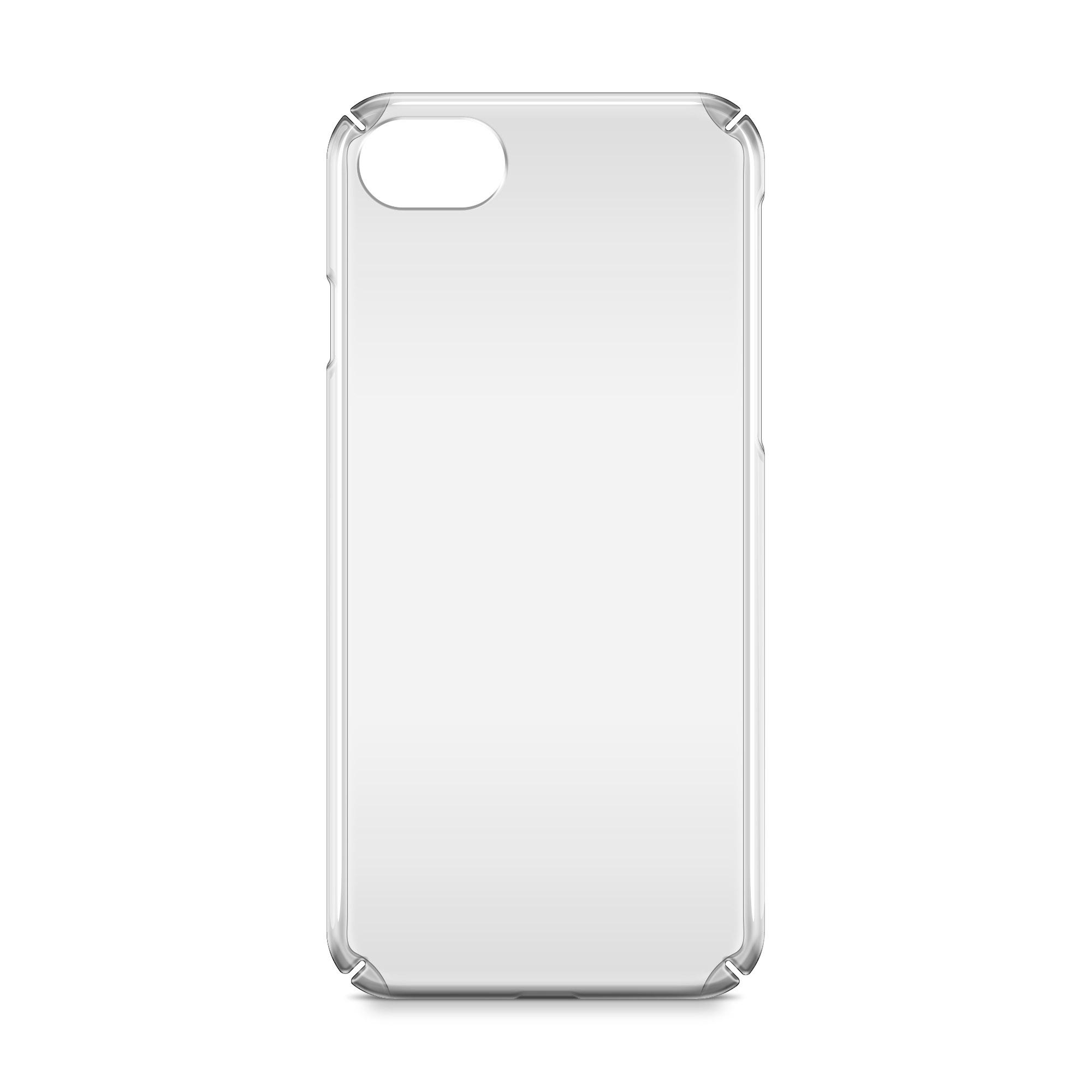 iPhone 7 UV PC case Mockup Back View