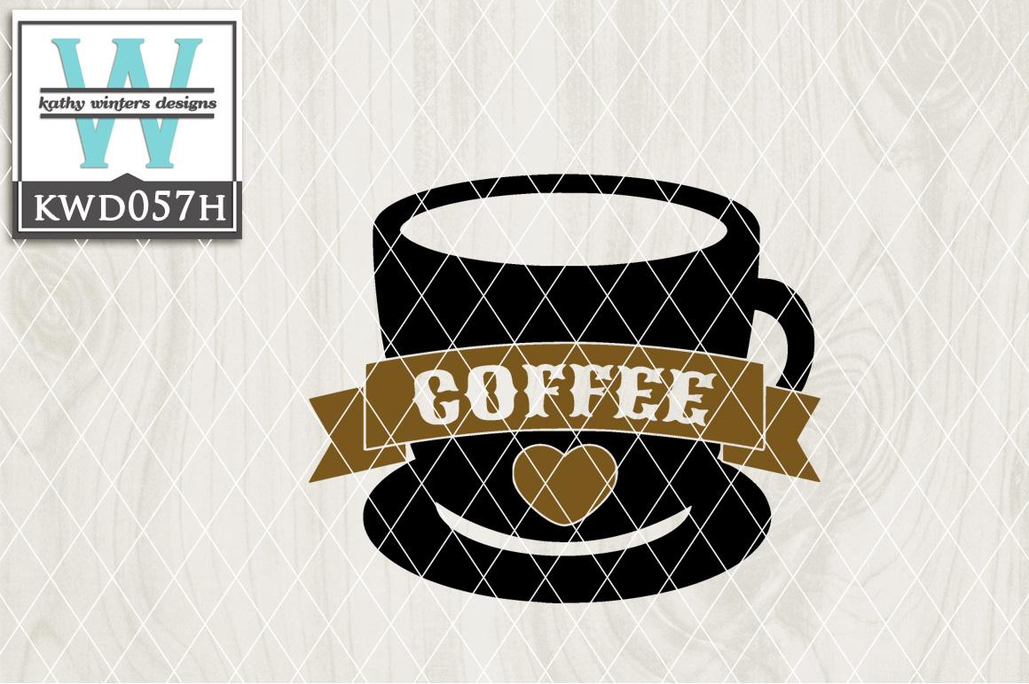 Coffee Cutting File KWD057H example image 1