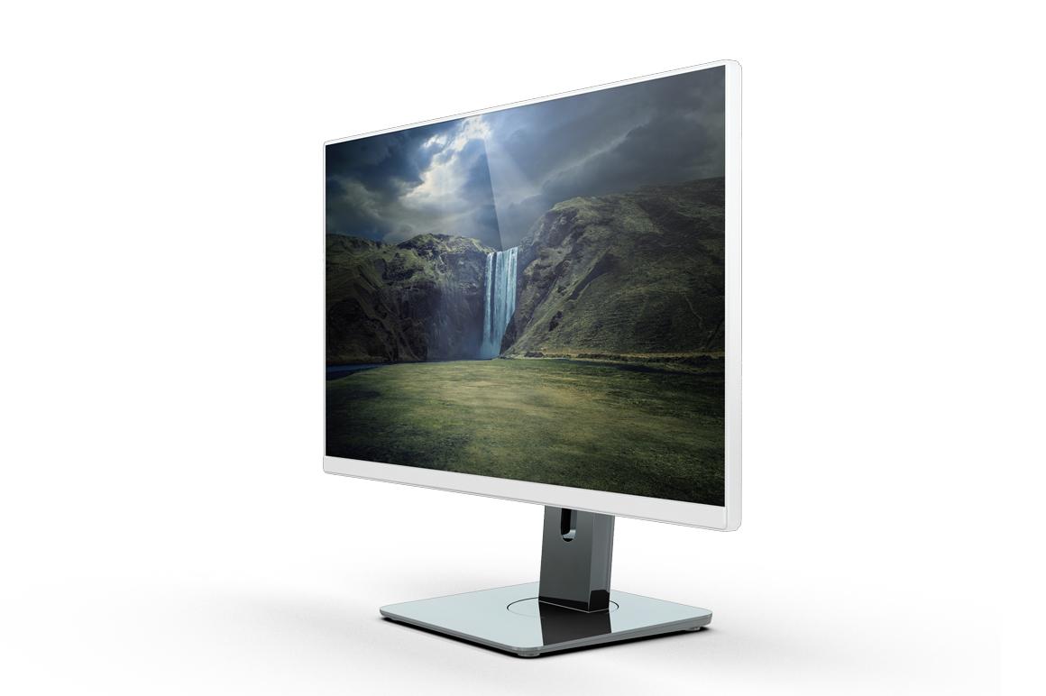 Monitor U2414h Mockup example image 11