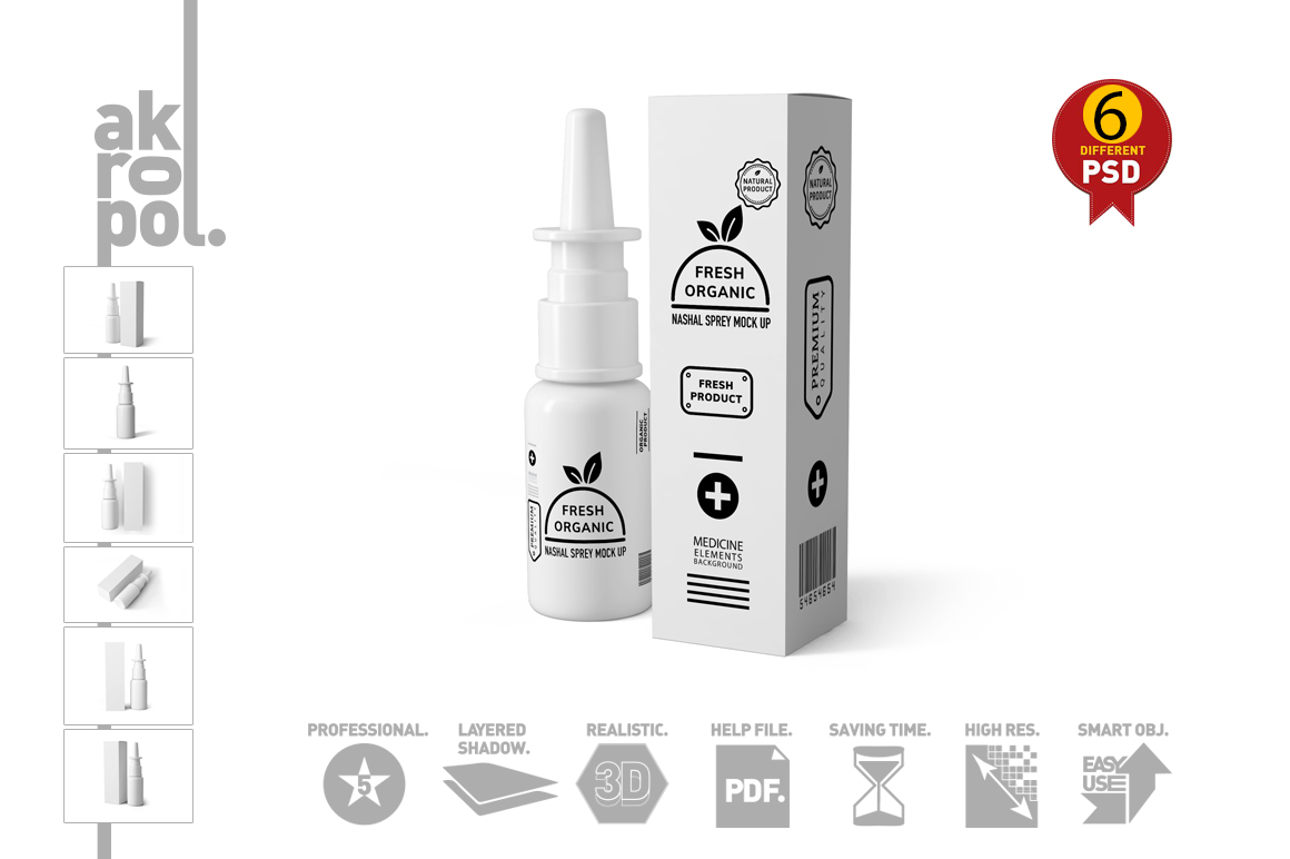 Nasal Spray Mock Up example image 9