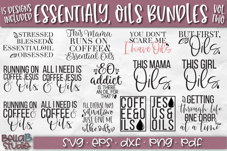 Essential Oils SVG Bundle, Essential Oils Quotes SVG Bundle example image 1