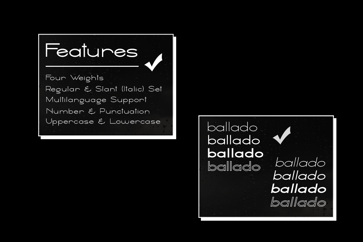 Ballado // Geometric Sans Family example image 5