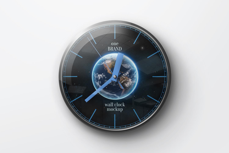 Wall Clock Mockups example image 3