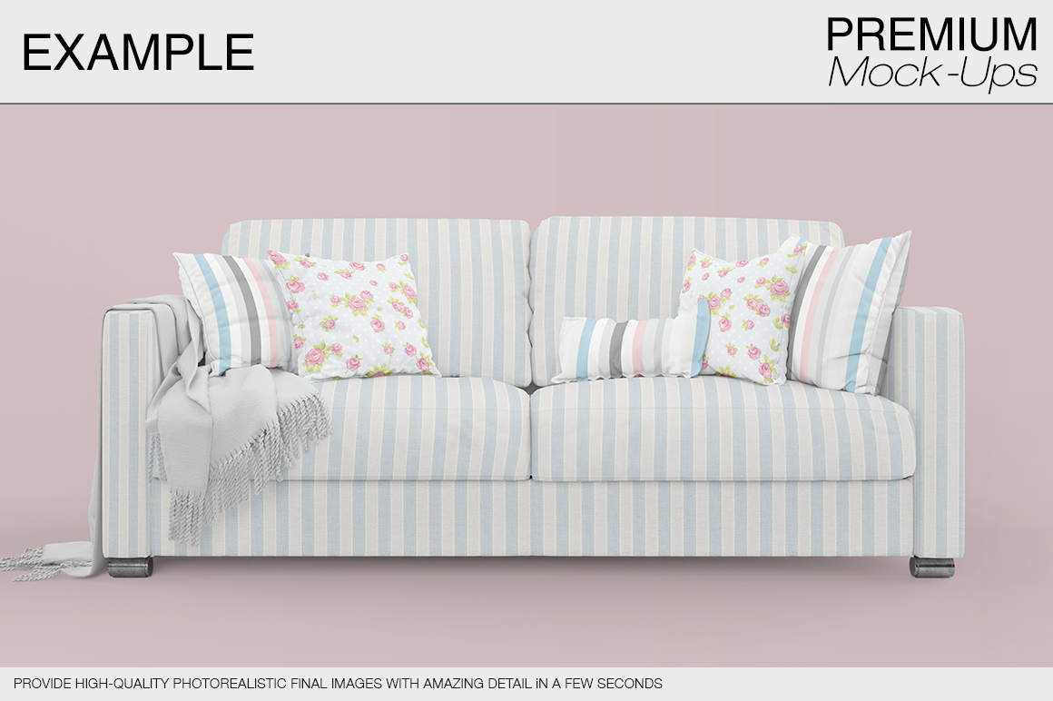 Sofa & Pillows Pack example image 14