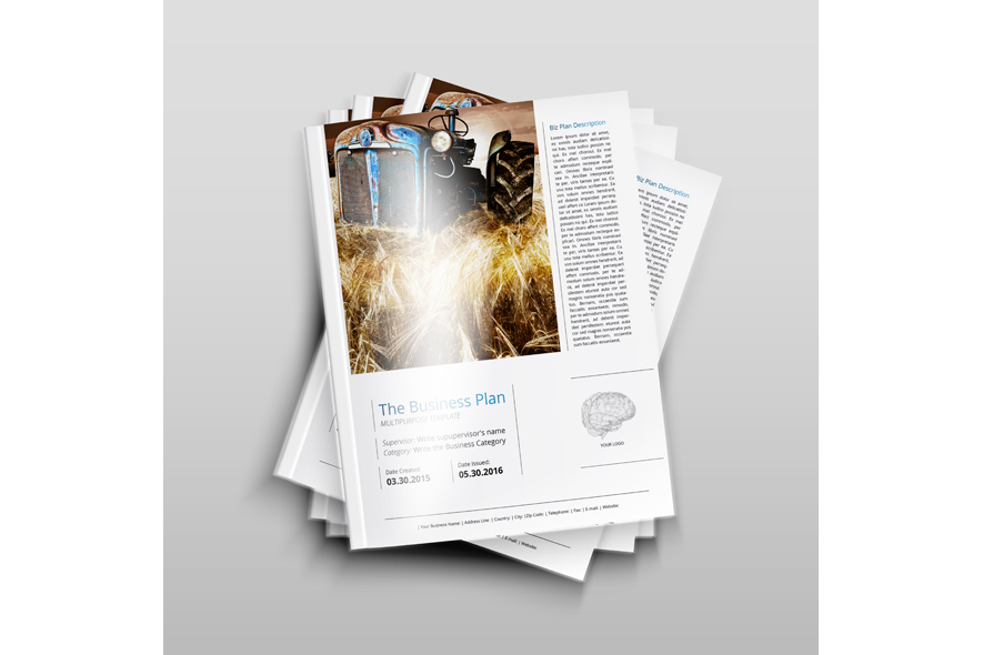 THE Business Plan - Multipurpose Template PRO example image 2