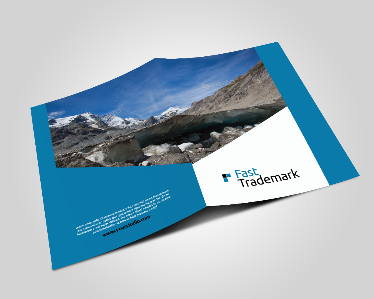 Finance Provider Firm Business Bifold Brochure example image 2
