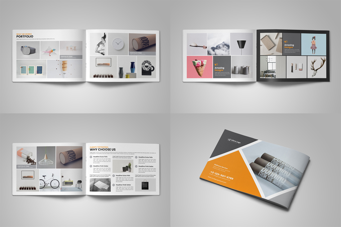 Portfolio Brochure Bundle example image 5