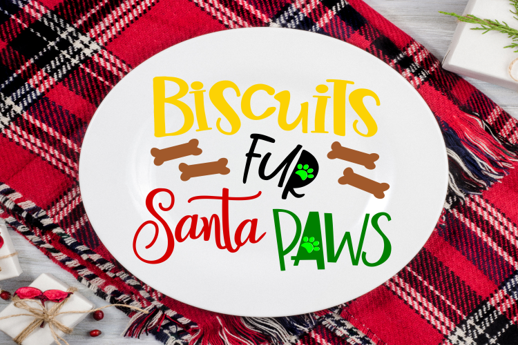 Biscuits FUR Santa Paws example image 2
