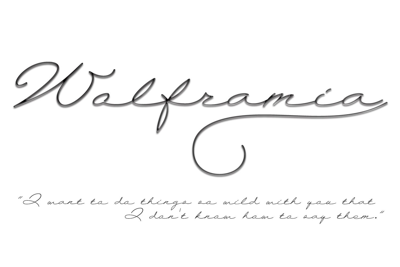 Wolframia example image 4