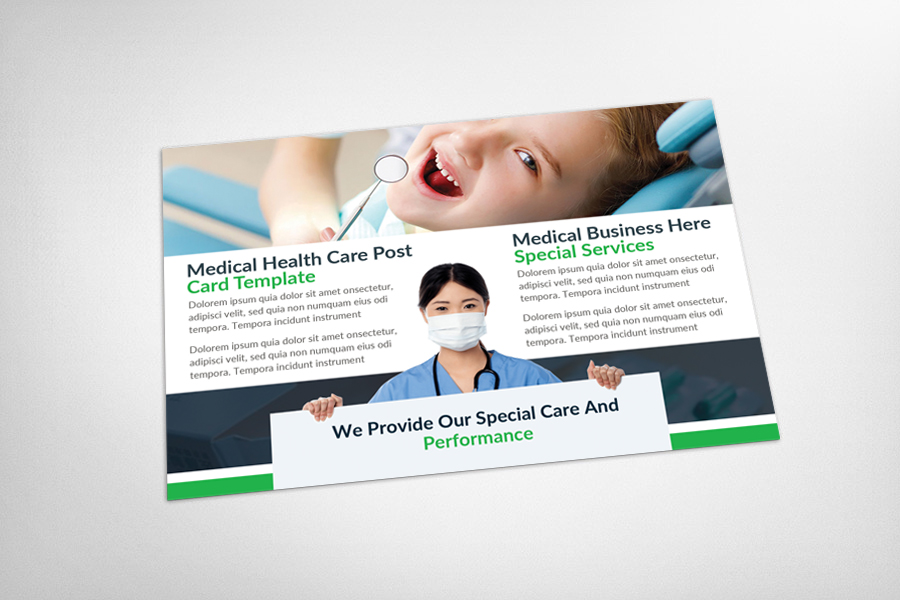Medical Dental Care Health Postcards example image 3