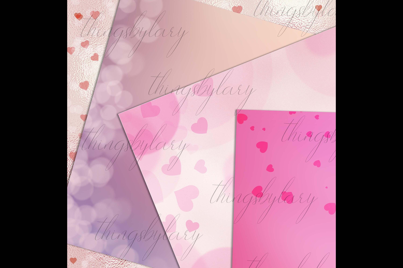 18 Luxury Bokeh Background Digital Images Gold Bokeh Heart example image 6
