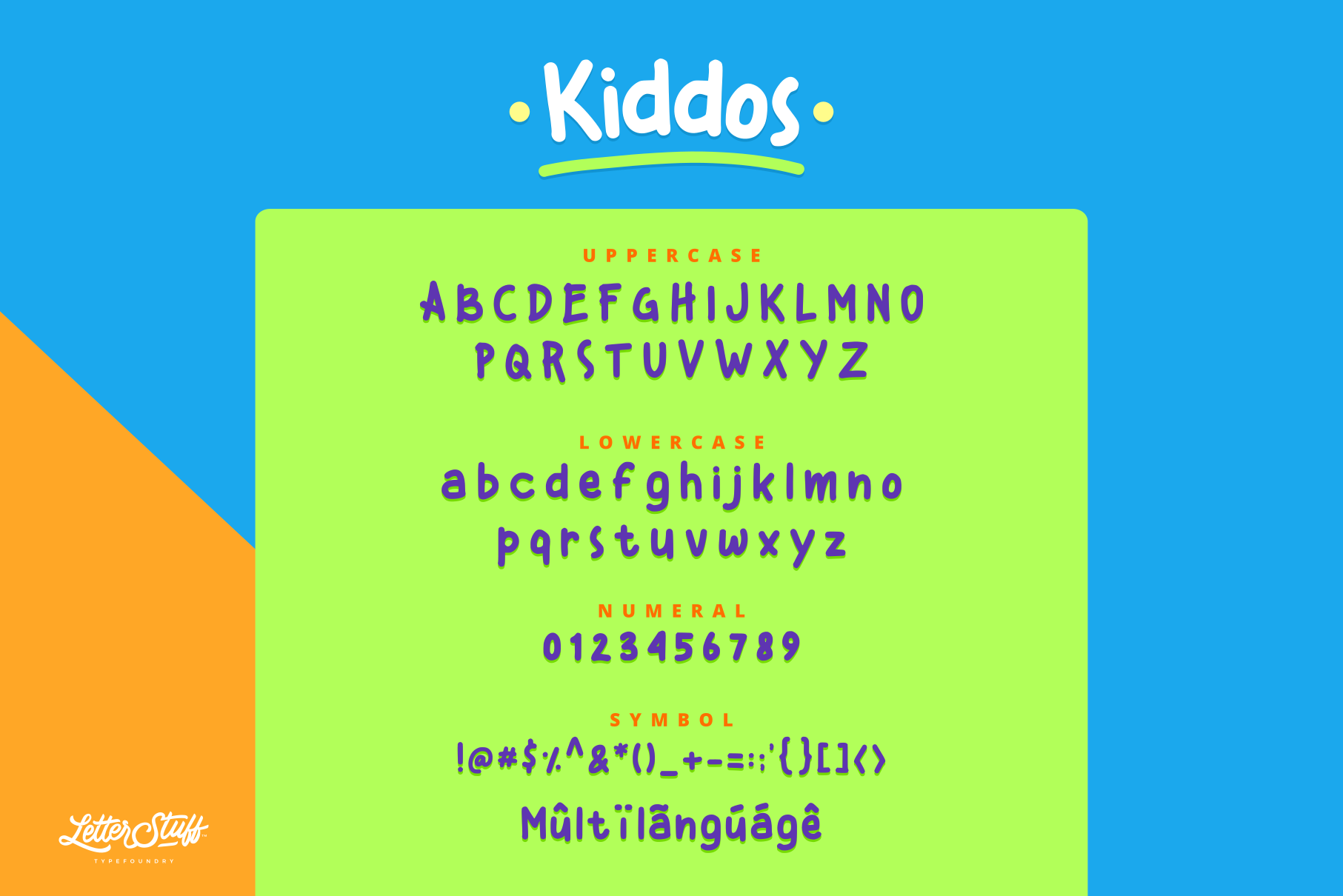 Kiddos Fun Handwritten font example image 5